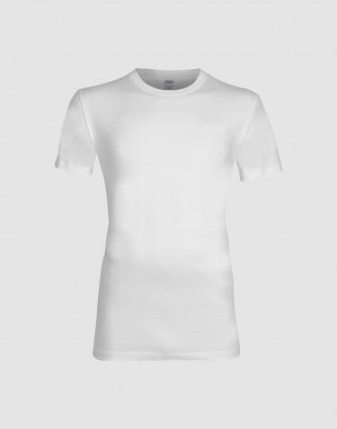 Tee-shirt en coton pour homme Blanc