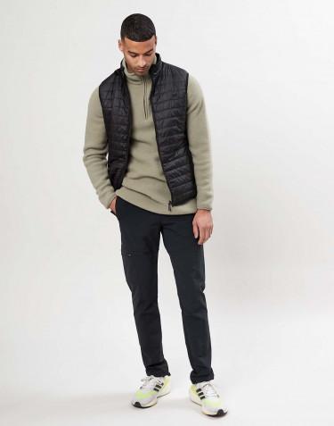 Veste sans manches en polyester recyclé pour homme