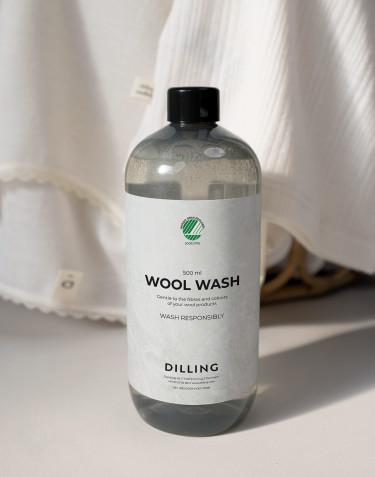 Lessive liquide spéciale pour laine DILLING 500 ml