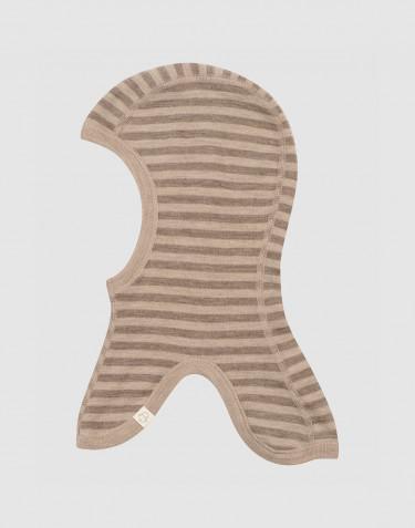 Cagoule pour bébé et enfant en laine mérinos