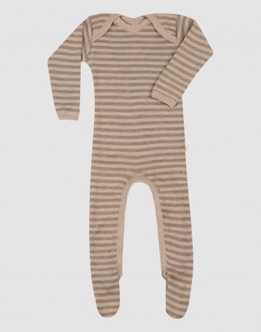 Combinaison en laine mérinos pour bébé