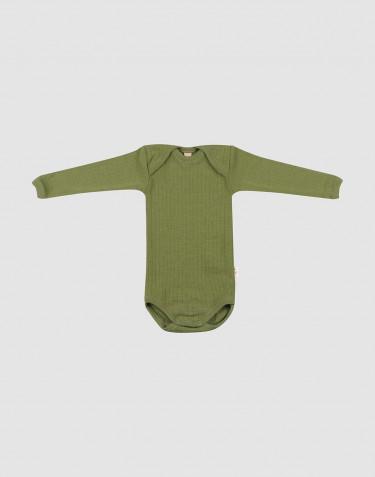 Body à manches longues pour bébé en laine mérinos