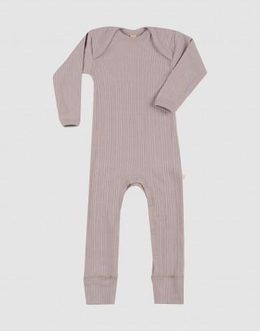 Combinaison pour bébé en laine mérinos