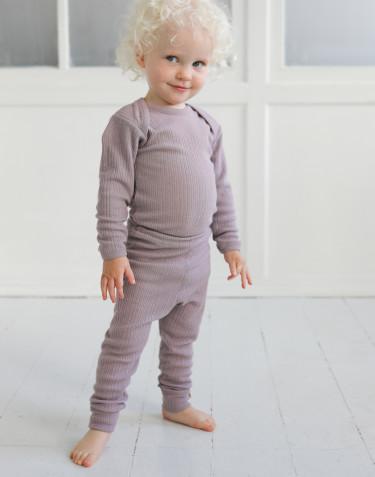 Legging en laine mérinos pour bébé
