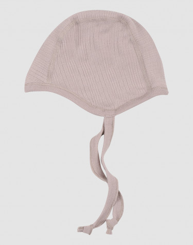 Bonnet pour bébé en laine mérinos