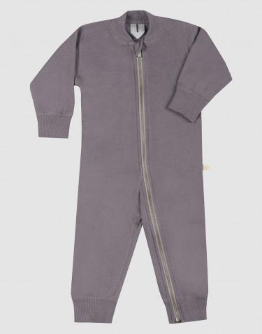 Combinaison en tissu éponge de laine pour bébé