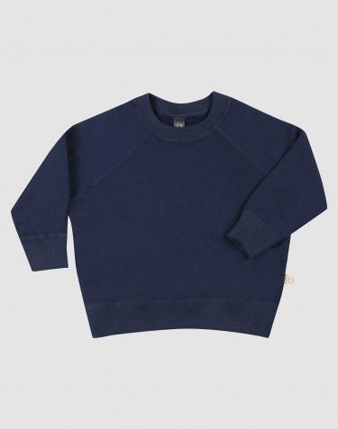 Sweatshirt en tissu éponge de laine pour bébé