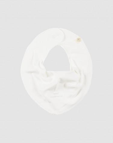 Bavoir pour bébé en coton bio Blanc