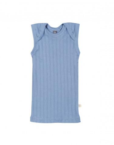 Sous-vêtement pour bébé en coton bio Bleu