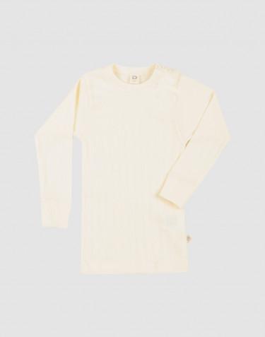 T-shirt à manches longues pour bébé en coton bio