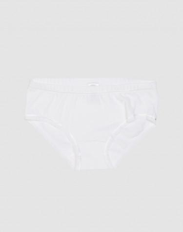 Culotte pour fille, en coton Blanc