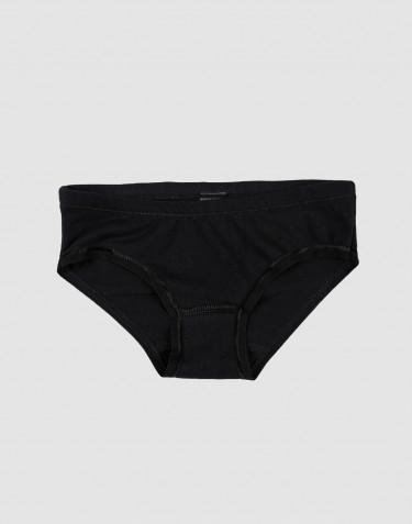 Culotte pour fille, en coton Noir