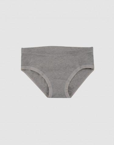 Culotte pour fille, en coton Mélange de gris