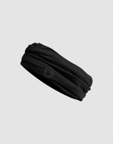 Cache-cou pour enfant, en laine mérinos exclusive Noir