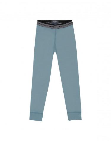 Legging pour enfant - laine mérinos exclusive Bleu minéral