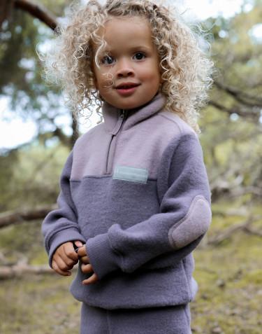 Veste en polaire mérinos pour enfant