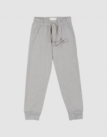 Pantalon de nuit pour enfant Mélange de gris