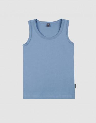 Sous-vêtement pour enfant, en coton bio Bleu
