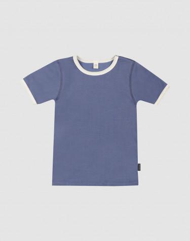 T-shirt en coton pour enfant - Bleu délavé