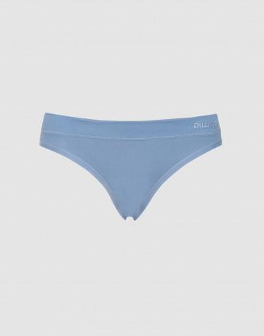 Culotte Mini DILLING en coton, pour femme Bleu