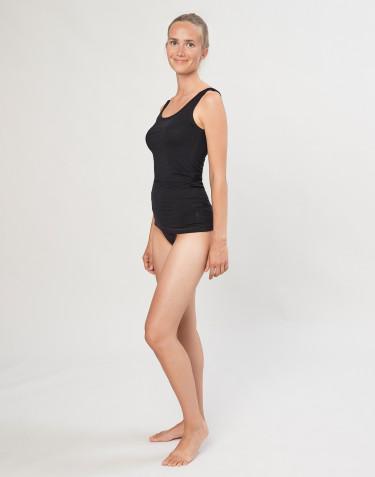 Culotte Mini DILLING en coton, pour femme Noir