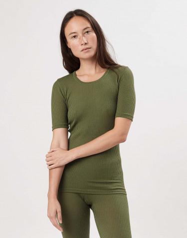 T-shirt pour Femme en laine mérinos