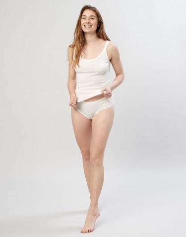 Culotte Midi en laine mérinos pour femme Naturel