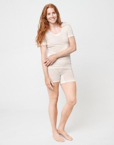 Panty en laine mérinos pour femme Naturel