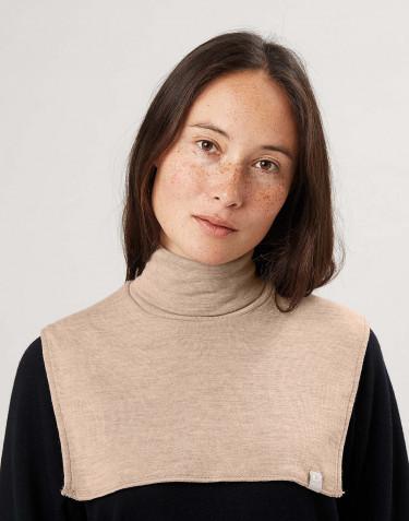 Cache-cou en laine mérinos pour femme
