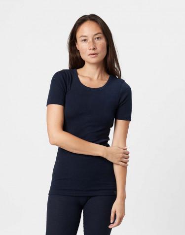 T-shirt en laine mérinos pour femme