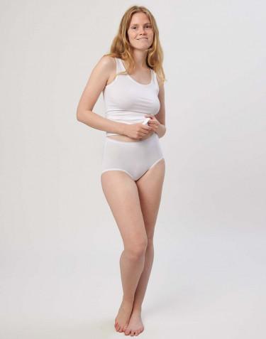 Culotte Maxi basique DILLING pour femme Blanc