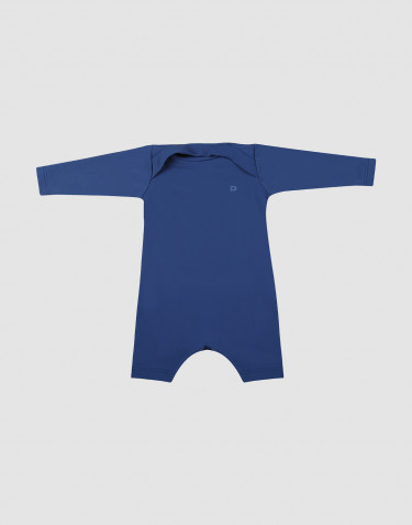 Combinaison pour bébé avec protéction UV- protéction UPF 50+ Bleu