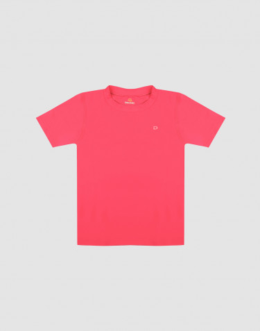 Tee-shirt pour enfant, avec protéction UV - UPF 50+ Rose