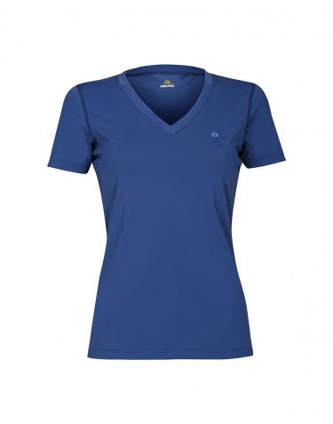 Tee-shirt avec protéction UV UPF 50 + pour femme Bleu