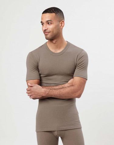T-shirt en laine mérinos pour homme