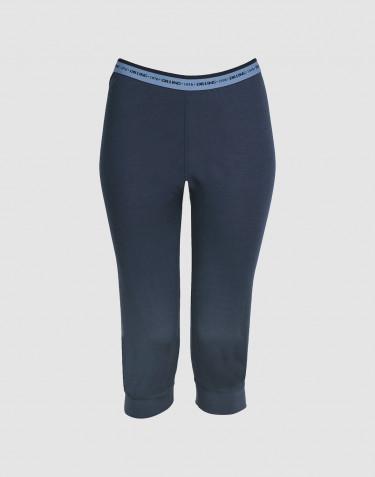 Legging pour femme - laine mérinos exclusive Bleu foncé