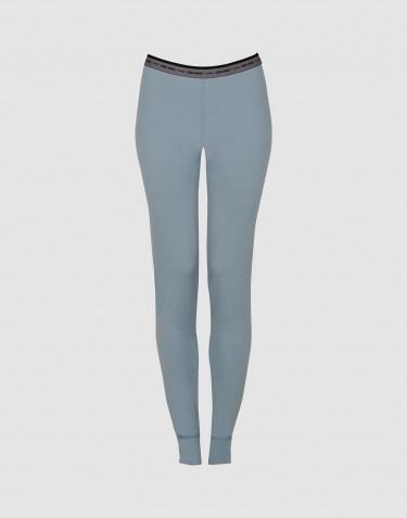 Legging pour femme - laine mérinos exclusive Bleu minéral