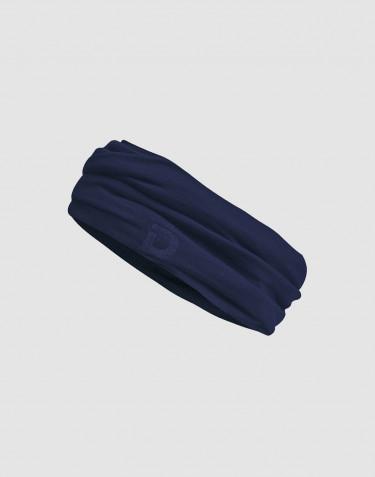 Cache-cou pour homme en laine mérinos exclusive Bleu foncé