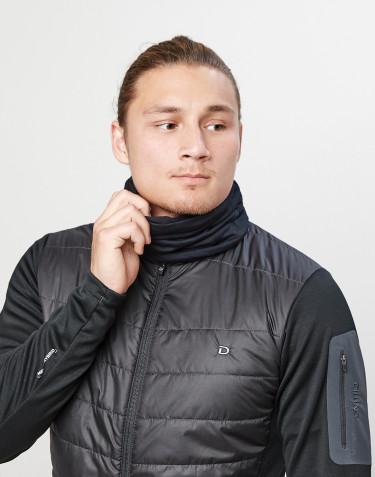 Cache-cou pour homme en laine mérinos exclusive Noir