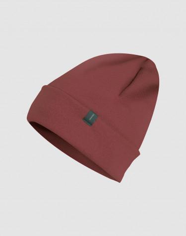 Bonnet en tissu éponge de laine Rouge