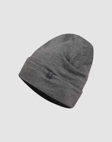 Bonnet en tissu éponge de laine Mélange de gris foncés