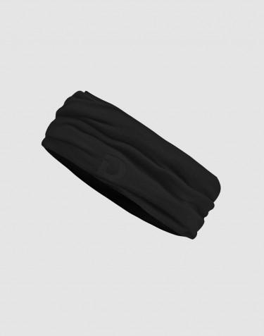 Cache-cou pour homme en laine mérinos exclusive bio noir